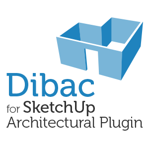 Try Dibac for SketchUp - Architectural Plugin